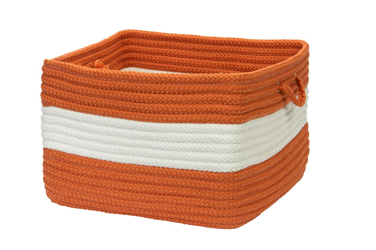 Rope Walk Utility Basket Colonial Mills Cmi Braided
