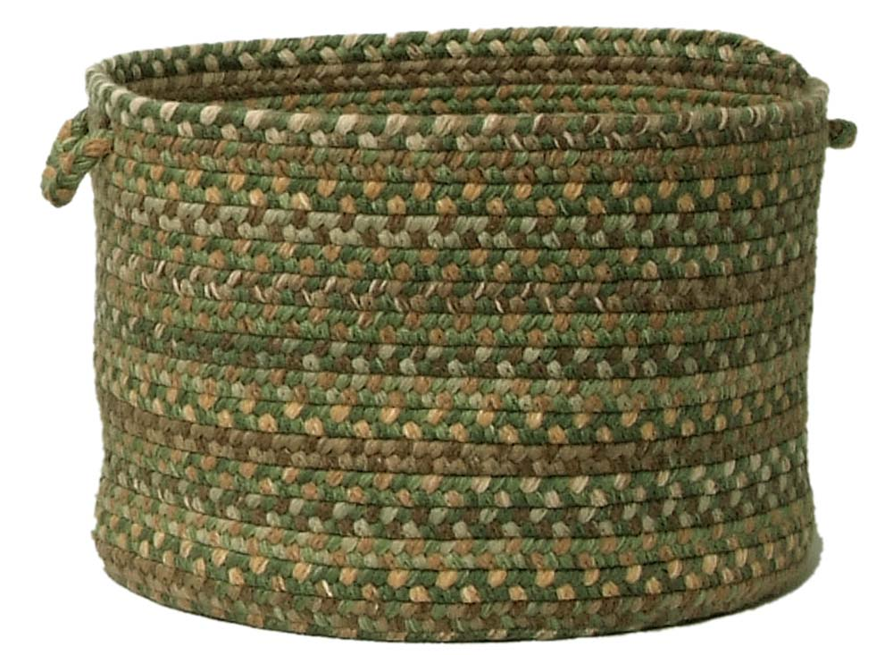 Oak Harbour Utility Basket Colonial Mills Cmi Braided