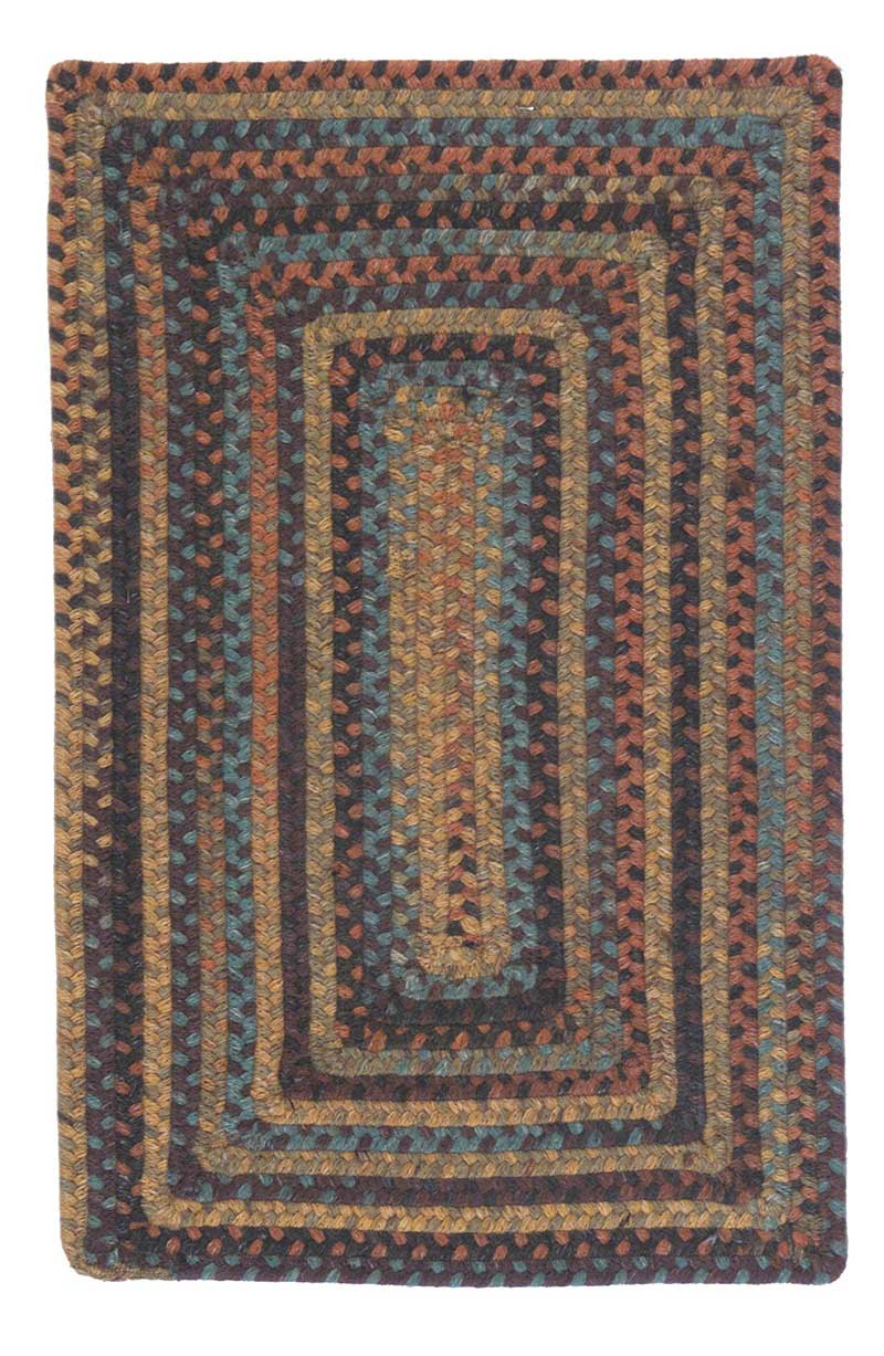Ridgevale collection colonial mills braided area rugs for Braided rugs