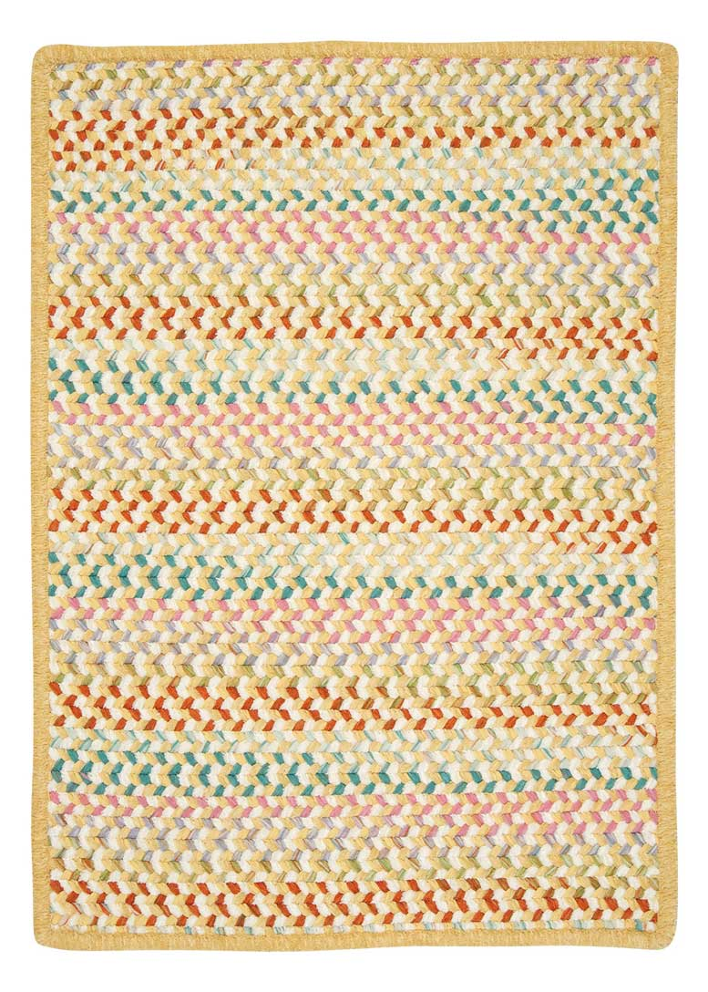 Color Frenzy Colonial Mills Braided Area Rugs Indoor