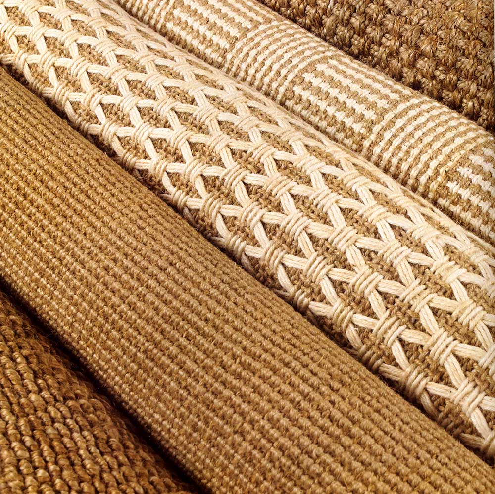 Surya Woven Jute Natural Fiber Area Rugs