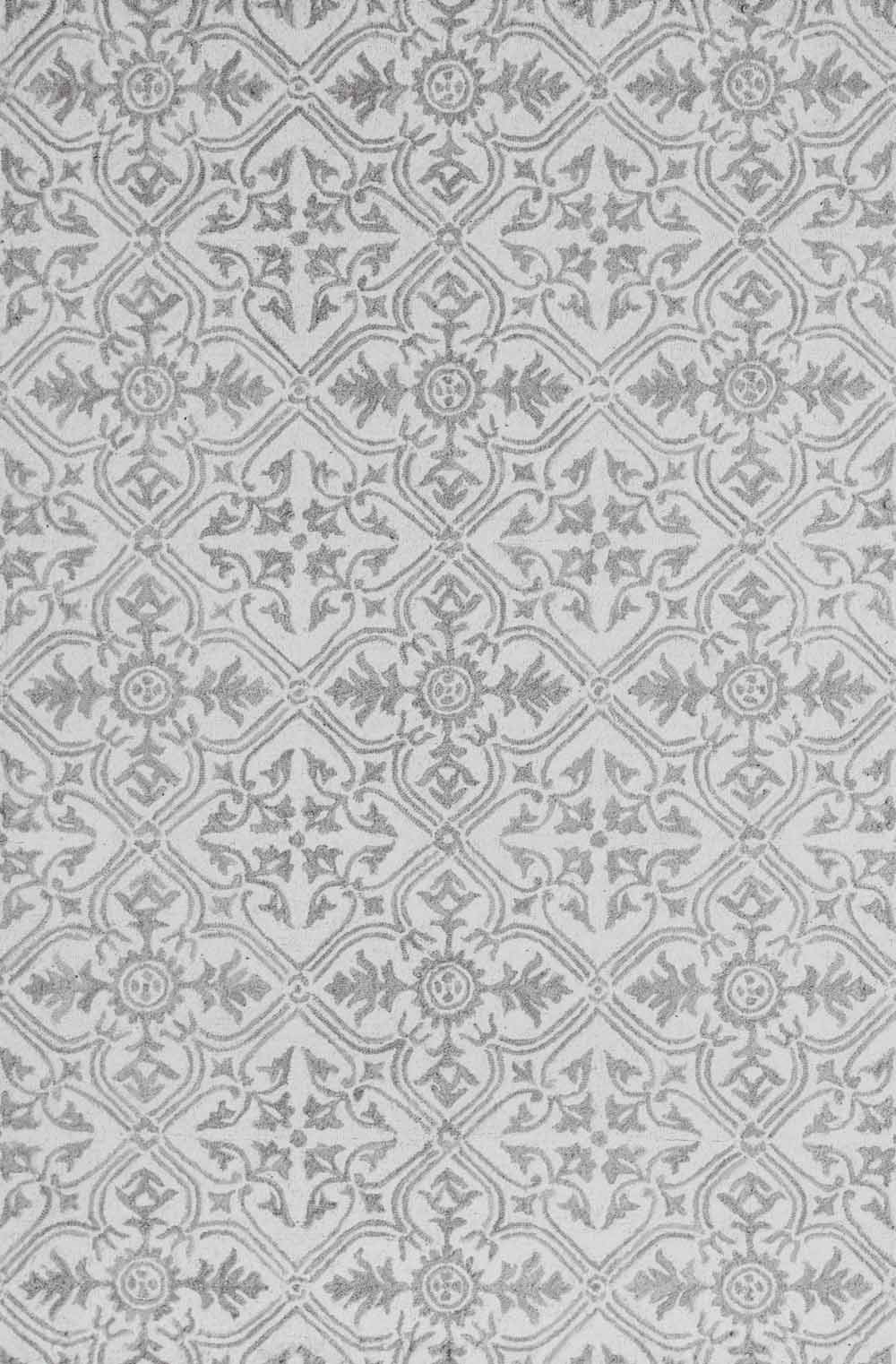 Dynamic Area Rugs Galleria 7867-100 Beige Geometric Design