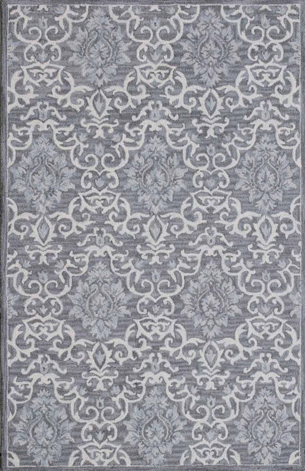 Dynamic Area Rugs Galleria 7868-901 Grey Geometric Design