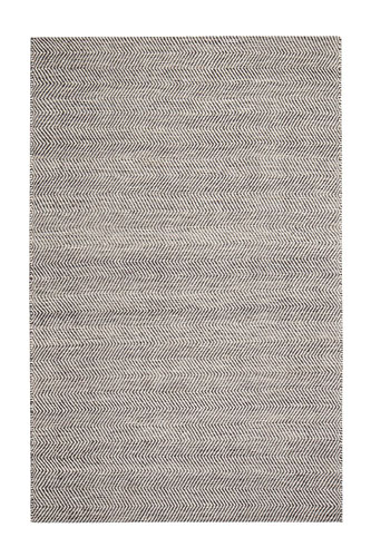 Anji Mountain Anthracite Blended Jute Rug