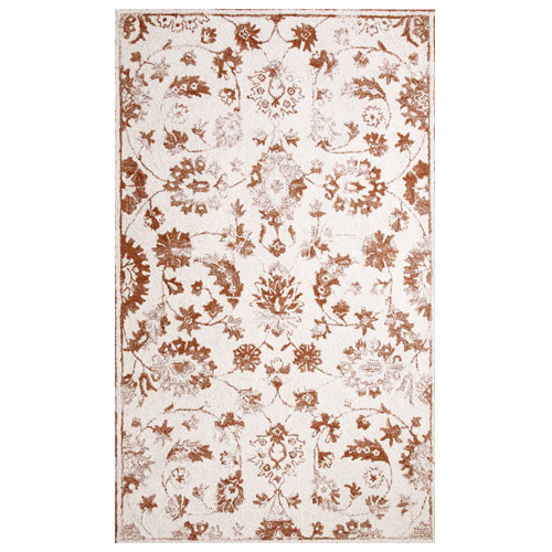 Dynamic Area Rugs Avalon 88803-102 Ivory/Rust