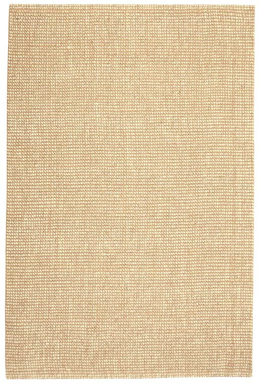 ZATAR Ribbed Loop Pile Natural Wool & Jute