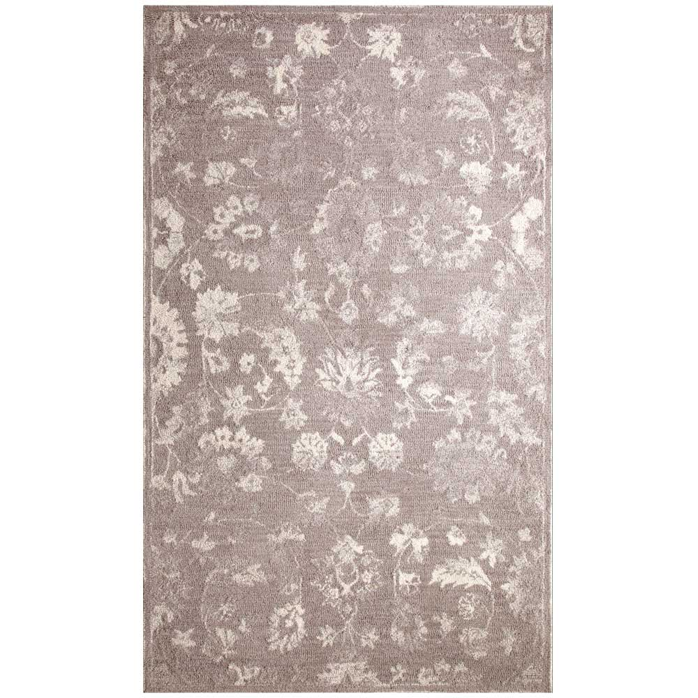 Dynamic Area Rugs Avalon 88803-900 Ivory/Silver