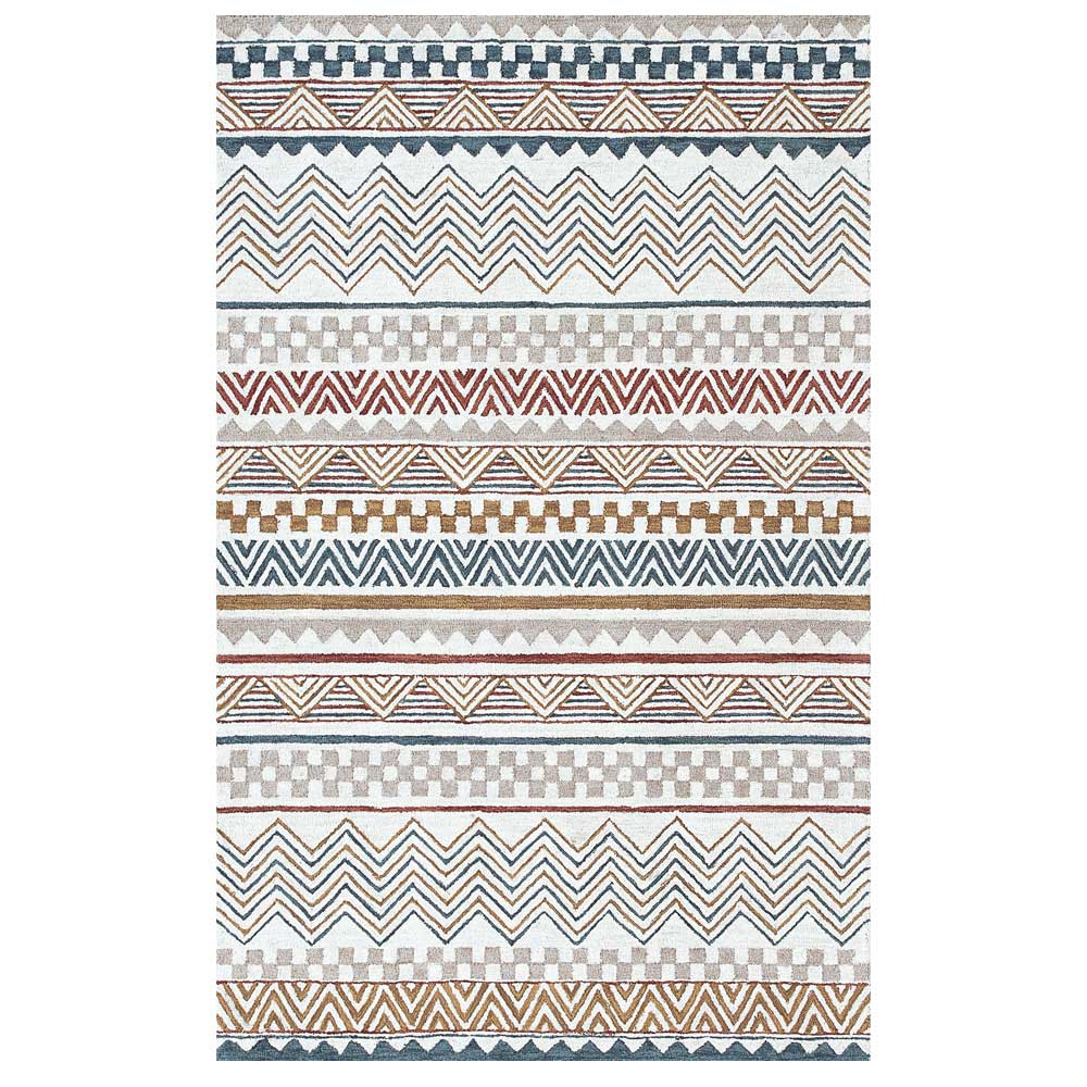 Dynamic Area Rugs Aztec 7870-999 Multi Southwestern Design